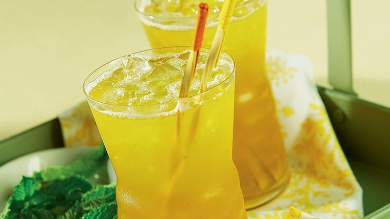 Mint-Green Tea Coolers