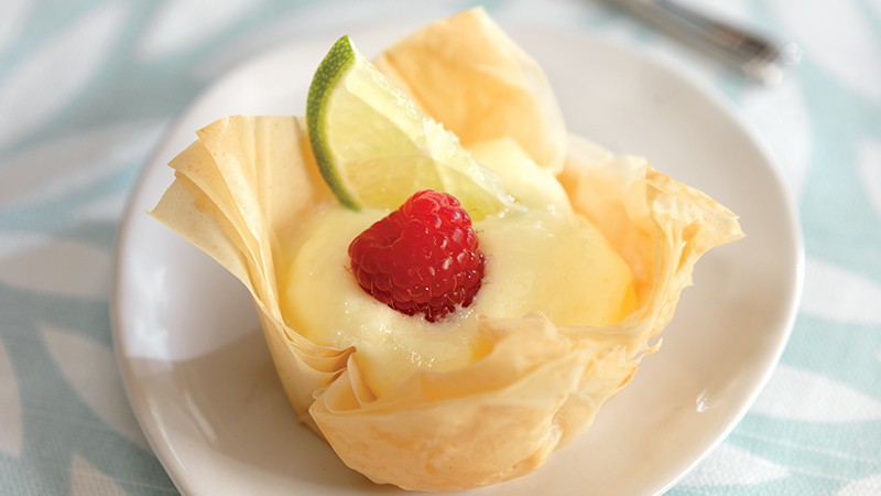 Low-Carb Key Lime Tarts