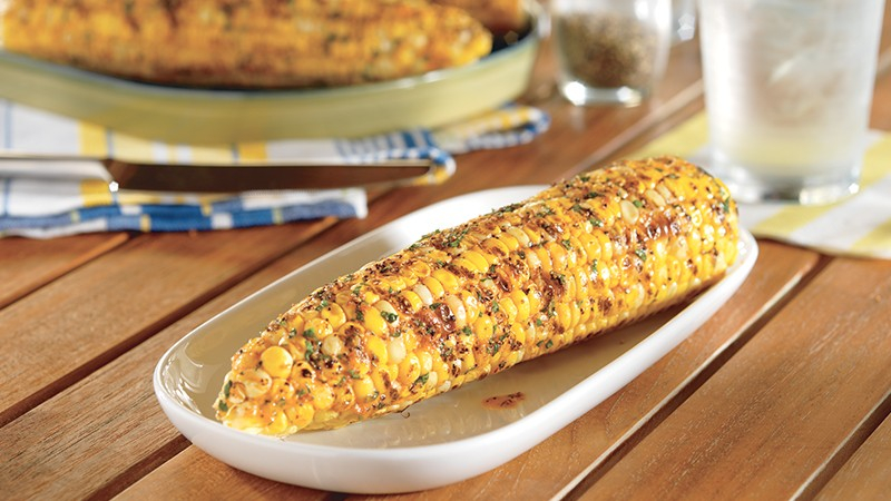 Low-Carb Grilled Corn On The Cob With Buttery Citrus Spread