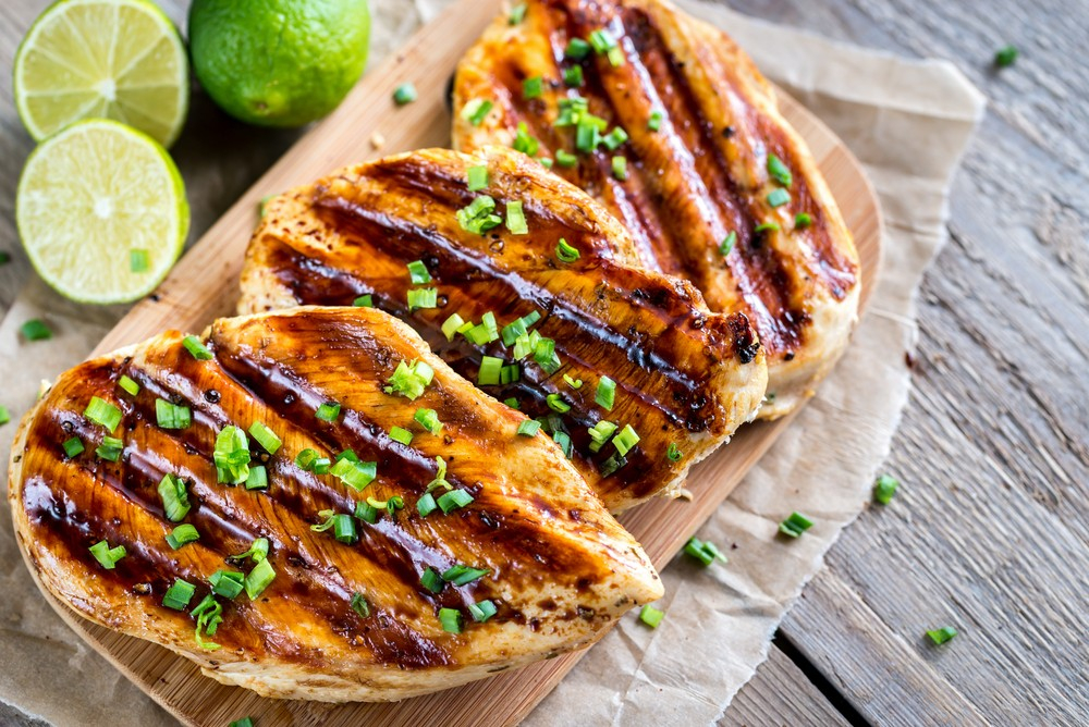 Low-Carb Lime Grilled Chicken