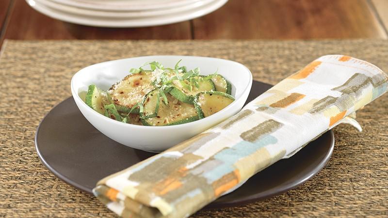 Quick Zucchini Parmesan